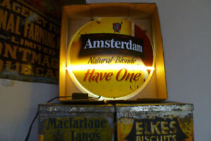 2 Great Neon Beer Signs: Amsterdam Blonde only $195