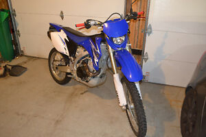 Wr450f supermoto (blue plated)