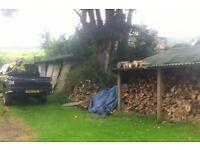 Firewood seasoned 2 years+