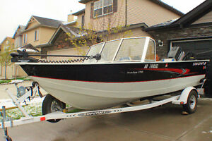 2000 17' Starcraft Starfire Fishing Boat with 120hp Outboard