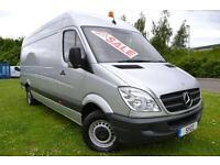 2011 Mercedes benz Sprinter 3.5t Van LWB HIGH ROOF 5 door Van