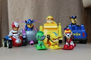Paw Patrol characters and vehicles