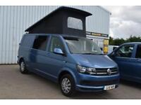 2016 Volkswagen Transporter Camper Van Diesel blue Manual