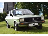 VW VOLKSWAGEN POLO MK1 1.3 DERBY GLS SALOON 2DR GREEN 1981 ONLY 17K MILES!
