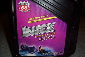 INJEX OIL TC-W3 two-cycle oil Phillips 66