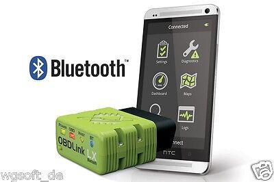 OBDLink LX Bluetooth Adaptador Incl. Scanmaster OBD 2 Diagnosesoftware Para Todo