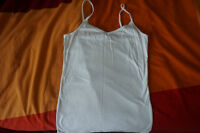 White tops *2, size S for $2