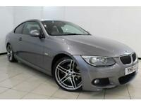 2011 61 BMW 3 SERIES 3.0 330D M SPORT 2D AUTO 242 BHP DIESEL