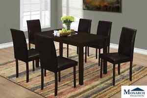 Brand NEW Cappuccino 5-Piece Dinette Set! Call 905 688 3939
