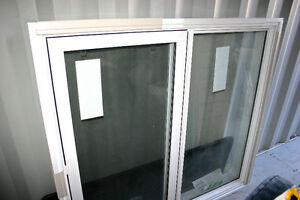 4 - New WINDOWS PVC by PlyGem (Envoy Series) c/w PVC Brick moul