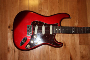 Stratocaster Style Guitar with Reverse Head