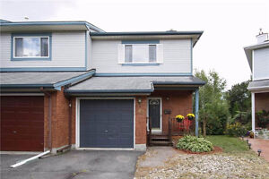 Kanata Town House with Large Fenced Back Yard for Only $294,900!