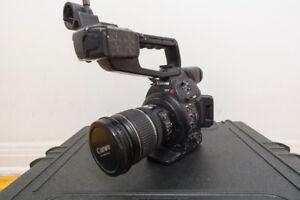 Canon C100 MarkII et 17-55 2.8 is