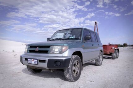 Small 4x4 BEAST! | Dual Fuel Pajero IO Bedfordale Armadale Area Preview