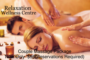 2 hours massage for $80 (foot massage + body massage)