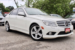 2009 MERCEDES-BENZ C-CLASS C300 4MATIC ACCIDENT FREE- CERTIFIED