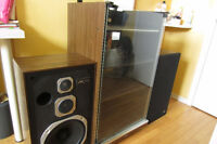 JVC Audio Cabinet with plug in headphones,excell shape