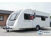Sterling Eccles SE Solitaire, 2015, 4 Berth,Touring Caravan