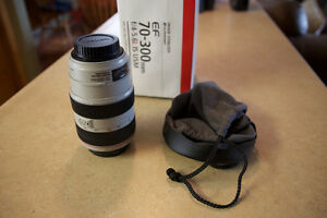 Canon EF 70-300 L IS lens