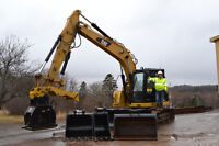 Excavator with Operator for Hire