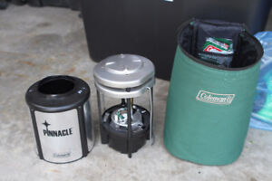 Coleman Pinnacle propane lantern with carrying case As/IS
