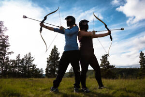 Archery Attack at Canteen Destiny!