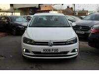 2018 Volkswagen Polo 1.0 SE (s/s) 5dr