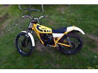 Yamaha TY175 twin shock trials bike