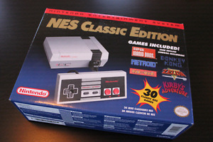 NES Classic mint condition never opened