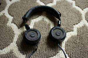 Grado sr225 (leather head strap, 1/4 adaptor)