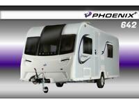 Bailey Phoenix Plus 642, NEW 2021 Touring Caravan