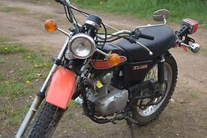 HONDA XL125 ON/OFF ROAD DIRT BIKE