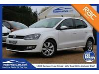 2014 14 VOLKSWAGEN POLO 1.4 MATCH EDITION 5D 83 BHP