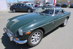 MG MGB 1971 CONVERTIBLE