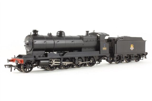 31-127 Bachmann Branch-Line GWR 3000 Class Rod 3023 BR Black Early Emblem Loco