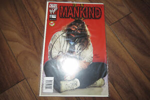 WWE Mankind#1 Comic Book Autographed by Mic Foley