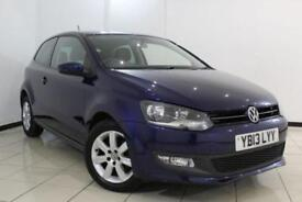 2013 13 VOLKSWAGEN POLO 1.2 MATCH EDITION 3DR 59 BHP