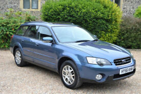 Subaru Outback Se, Manual 2.4 Estate, S/HISTORY, FEB MOT, 3 OWNER, 4x4 drive