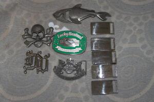 boucles de ceintures