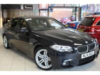 2014 14 BMW 5 SERIES 2.0 520D M SPORT 4D AUTO 181 BHP DIESEL