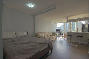 Highend Yaletown Jr 1B with new reno+parking and amazing park vi