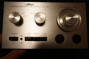 STAX  Stereo PreAmp , Class A ,$350.00 , Collector Liquidating