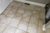 TILE & GROUT CLEANING AND RESTORATION SERVICES