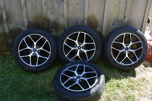 "Beautiful 17"" Summer Rims And Tires Kitchener / Waterloo Kitchener Area image 5"