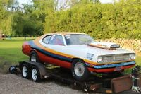 1972 Duster Drag car or return to driver