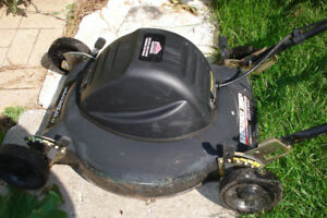 SELDOM USED ELECTRIC LAWN MOWER