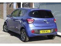2018 Hyundai i10 1.0 Go SE Petrol blue Manual