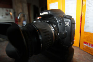 Canon EOS 20D .Digital SLR Camera  with 28-90mm lens