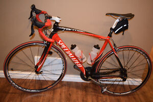 Tarmac Specialized Bicycle - Red and Black Trim