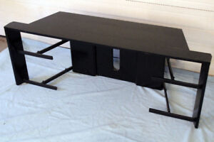 CORNER TV / Entertainment stand 55 inches wide, 3 shelves